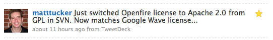 OpenFire goes Apache 2.0