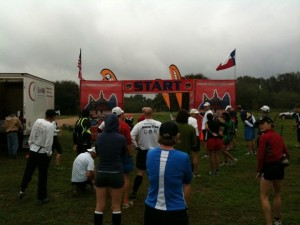 Dirty Du Half Marathon Start