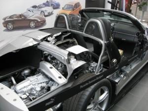 Inside a Porsche