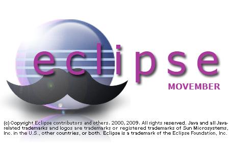 Movember Eclipse Splash Screen